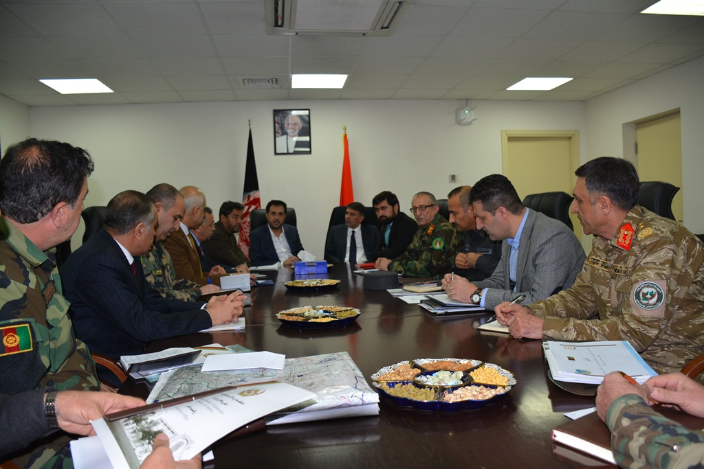 Acting Defences Minister chaired the meeting for assessment of country's security situation