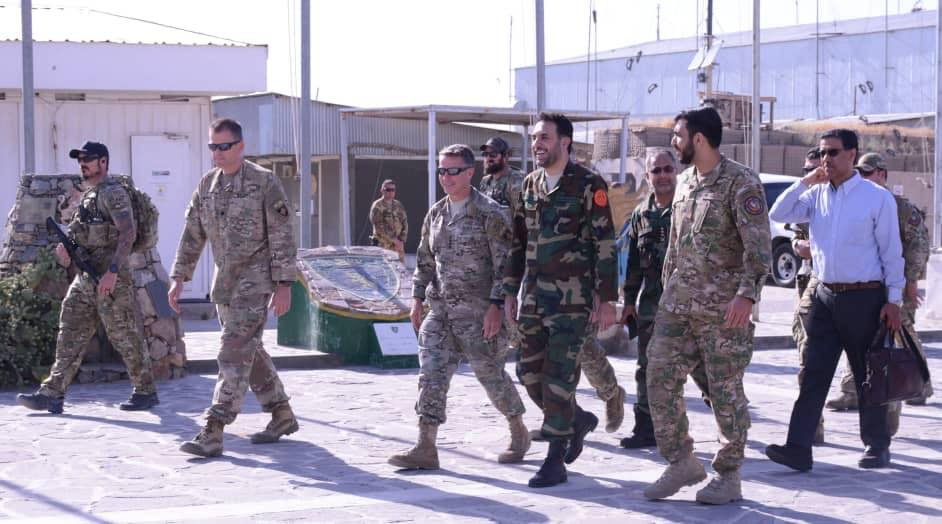 Acting Defense Minister Observed Security Situation of Herat Province