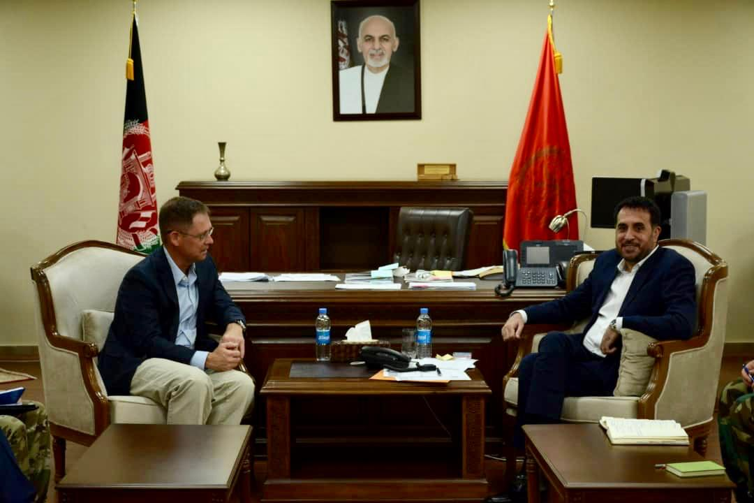 Acting Defense Minister Meets with US Deputy Assistant Secretary of Defense