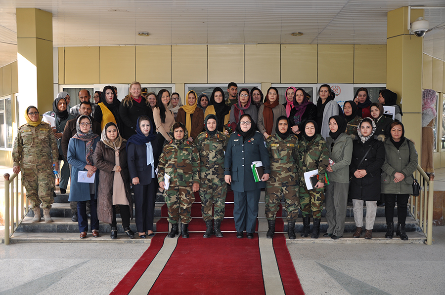 "Ministry of National Defense at the ""First National Conference on Military Women"