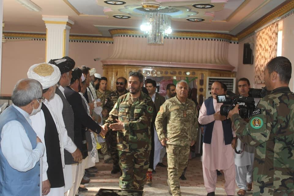 Chief of General Staff of the Armed Forces visits the Nimruz province!