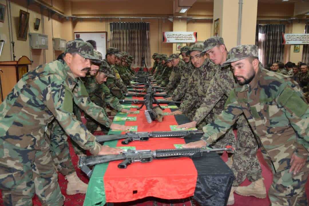 360 ANA soldiers took oath of allegiance in Balkh province!